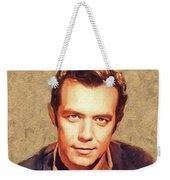 Pernell Roberts, Vintage Actor Weekender Tote Bag