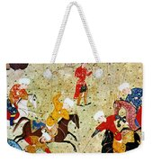Persian Polo Game Weekender Tote Bag