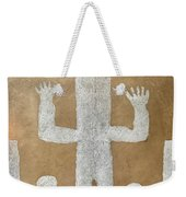 Personnage With Two Trees Weekender Tote Bag