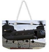 Personnel Attach A Storage Container Weekender Tote Bag