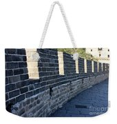 Perspective At The Great Wall Weekender Tote Bag