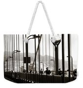 Perspective On The Golden Gate Bridge Weekender Tote Bag