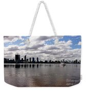 Perth City From South Perth Foreshore  Weekender Tote Bag
