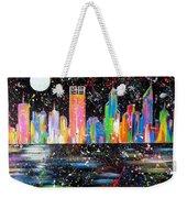 Perth Skyline Alla Pollock  Weekender Tote Bag