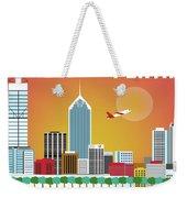 Perth Western Australia Australia Horizontal Skyline Weekender Tote Bag