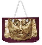 Peru: Chimu Gold Mask Weekender Tote Bag