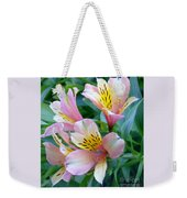 Peruvian Lily Of The Incas Weekender Tote Bag