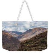 Peruvian Mountains From Pisac Site Weekender Tote Bag
