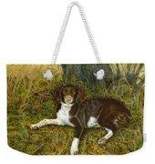 Pet Portrait - Springer Spaniel, Milly Weekender Tote Bag