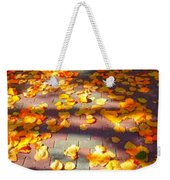 Petals Of Faith Weekender Tote Bag