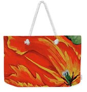 Petals Of Fire Four Weekender Tote Bag