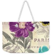 Petals Of Paris II Weekender Tote Bag
