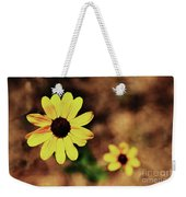 Petals Stretched Weekender Tote Bag