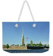 Peter And Paul Fortress. Saint Petersburg, Russia Weekender Tote Bag