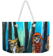 Peter And The Wolf Weekender Tote Bag