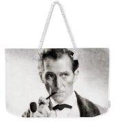 Peter Cushing As Sherlock Holmes Weekender Tote Bag