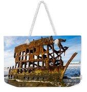 Peter Iredale Shipwreck - Oregon Coast Weekender Tote Bag