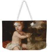 Peter Lely Portrait Of Princess Isabella 1676-1680 Daughter Of King James II And Mary Of Modena Weekender Tote Bag