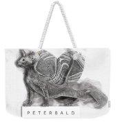 Peterbald Kitten 01 Weekender Tote Bag