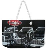 Peterbilt Trucks Weekender Tote Bag