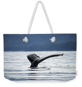 Petersburg Ak Whale Tale 5 Weekender Tote Bag