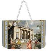 Petit Trianon Medallions Weekender Tote Bag