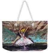 Petite Ballerina Weekender Tote Bag