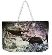 Petra, Transjordan: Cave Weekender Tote Bag