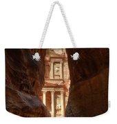 Petra Treasury Revealed Weekender Tote Bag