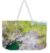 Petrohue River In Vicente Perez Rosales National Park Near Puerto Montt-chile Weekender Tote Bag