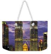 Petronas Towers Weekender Tote Bag