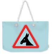 Petting Bigstock Donkey 171252860 Weekender Tote Bag