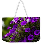 Petunias 1 Weekender Tote Bag