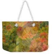 Petunias And Lantana Collage Weekender Tote Bag