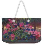 A Basket Of Petunias Weekender Tote Bag