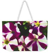 Petunias With A Flare Weekender Tote Bag