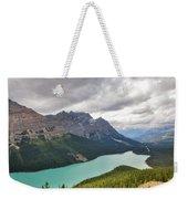 Peyto Lake - Banff National Park, Canada Weekender Tote Bag