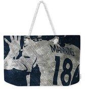 Peyton Manning Broncos 2 Weekender Tote Bag