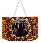 Pharaoh In The Starry Night Weekender Tote Bag