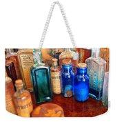 Pharmacist - Medicine Cabinet  Weekender Tote Bag by Mike Savad