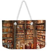 Pharmacy - Get Me That Bottle On The Second Shelf Weekender Tote Bag by Mike Savad