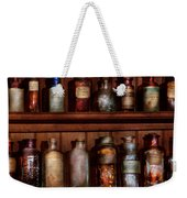 Pharmacy - Caution Don't Mix Together Weekender Tote Bag