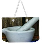 Pharmacy - Mortar And Pestle - Square Weekender Tote Bag