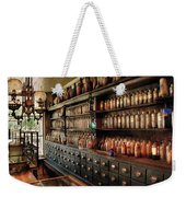 Pharmacy - So Many Drawers And Bottles Weekender Tote Bag