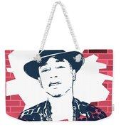 Pharrell Graffiti Tribute Weekender Tote Bag