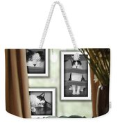 Phat Cat Weekender Tote Bag