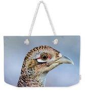 Pheasant Hen Weekender Tote Bag