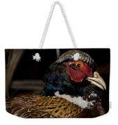 Pheasant In The Eye Weekender Tote Bag