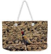 Pheasant On The Move Weekender Tote Bag