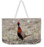 Pheasant Rooster Weekender Tote Bag